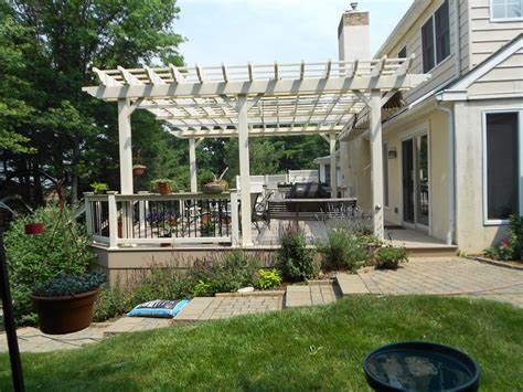pergola existing deck thediapercake home trend