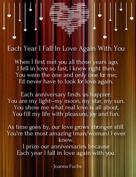 Wedding Anniversary Poems To My Husband