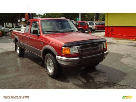1997 ford ranger xlt extended cab 4x4 in toreador metallic photo 6 a70287 truck n sale