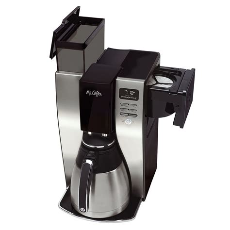 Mr. Coffee® Optimal Brew? 10 Cup Programmable Coffee Maker with Thermal Carafe, BVMC PSTX91 RB