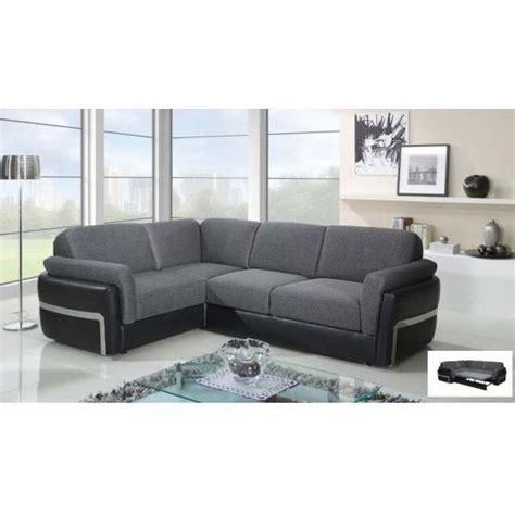 canape d angle convertible gauche design achat vente canap 233 sofa divan pu polyur 233 thane