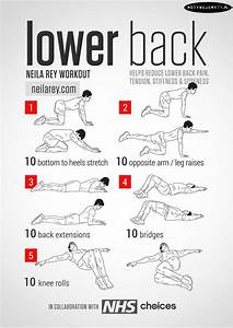 Low Back Pain Exercises Exercises that stretch and ...