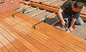 Holzdielen Für Terrasse : terrasse holz unterkonstruktion anleitung ~ Markanthonyermac.com Haus und Dekorationen