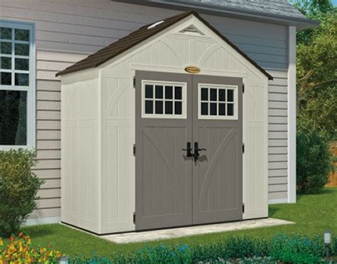 tremont 8x4 shed kit suncast resin shed