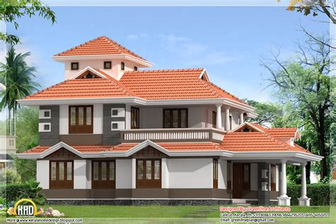 4 Bedroom, 2300 Sqft Kerala Home Design  House Design Plans