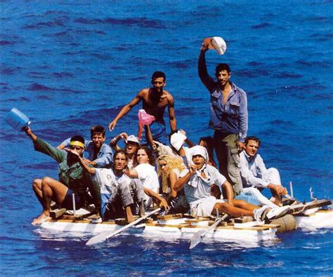 People On A Boat by A Case Of Cuban Boat Refugees A Poem By Mr Numi Who
