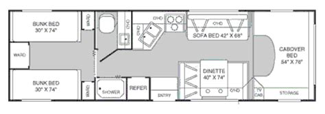 fleetwood class c rv floor plans floor matttroy