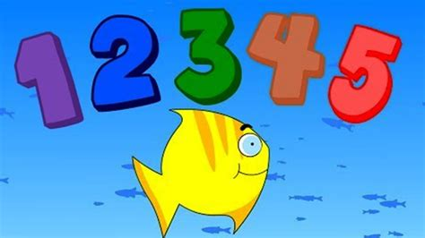 12345 Once I Caught A Fish Alive  Nursery Rhymes Baby