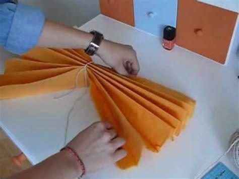 diy d 233 co pompon en papier de soie