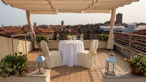 Roof Top Terrace : L'alcova Restaurant-rooftop Terrace Venice Hotel-ca