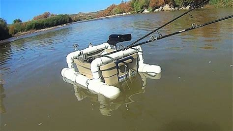 Pull Behind Boat Floats by Diy Floating Camera Base And Fishing Rod Holder Youtube