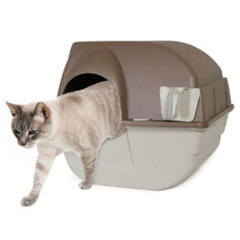quot roll n clean quot la maison de toilette pour chats de omega paw