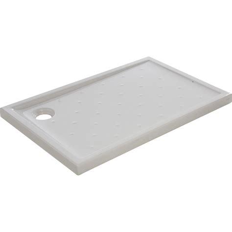 receveur de rectangulaire l 120 x l 80 cm gr 232 s blanc asca2 leroy merlin
