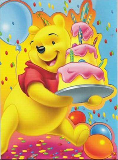 carte anniversaire winnie l ourson 224 imprimer akhmal lis