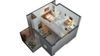 tiny house floor plans small residential unit 3d floor 3d floor plan small house plans 3d
