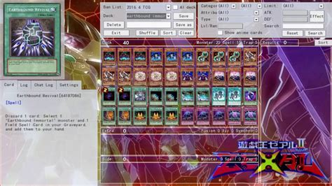 yugioh deck profile earthbound immortal june 2016