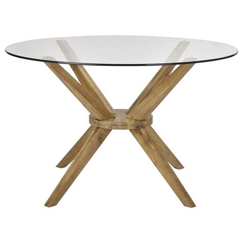 25 best ideas about table ronde en verre on table ronde bois porte de garage en