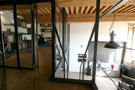 r 233 novation appartement croix rousse lyon mezzanine acier