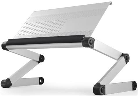 workez executive ergonomic laptop stand monitor riser standing desk office product in the