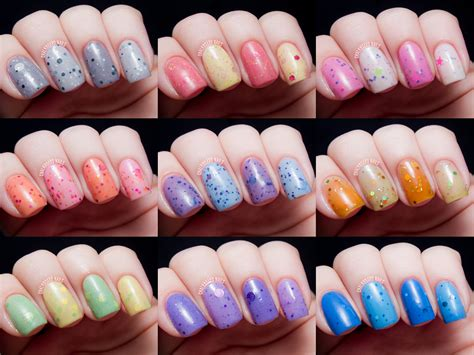 Polish Me Silly Thermal Nail Polishes (formerly Lush