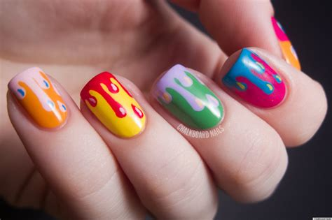 Paint Drip Nail Art And More Of Our