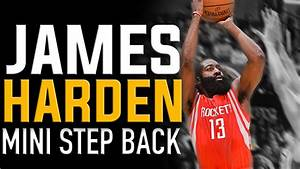 James Harden Mini Step Back: NBA Basketball Moves - YouTube