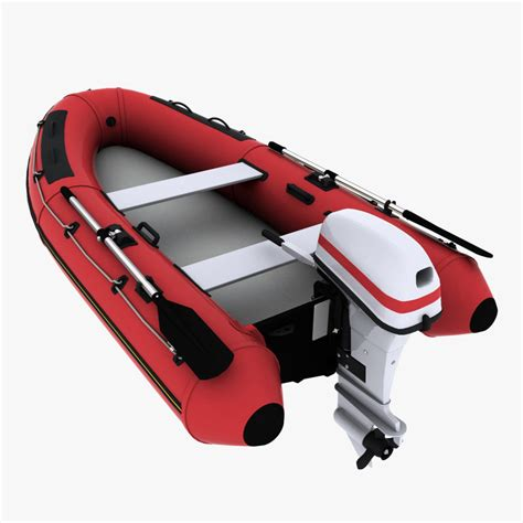 Inflatable Boat Outboard by 3d Inflatable Boat Outboard Motor