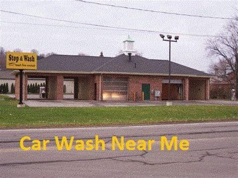 Car Wash Near Me Youtube