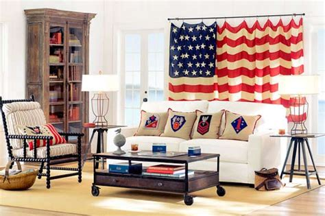 How To Decorate With The United States Flag