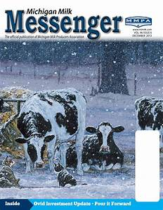 Michigan Milk Messenger: December 2013 by Michigan Milk ...