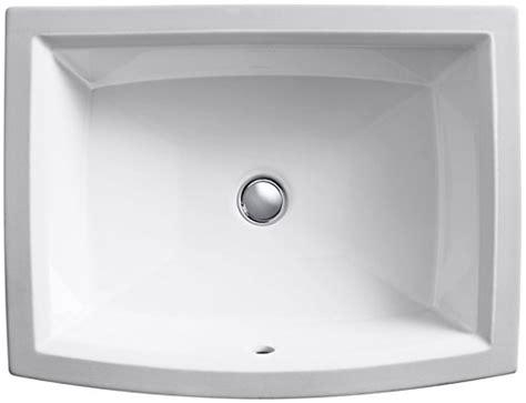 kohler k 2355 0 archer undercounter lavatory white buy