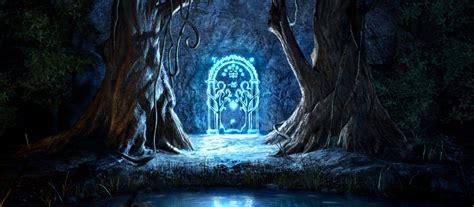 le seigneur des anneaux un fan construit la porte des mines de la moria dans sa maison