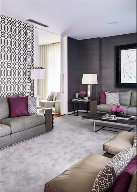 grey and purple living room paint 1000 images about living room purple accents on