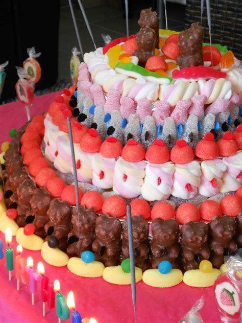 g 226 teau d anniversaire bonbons theme anniversaire