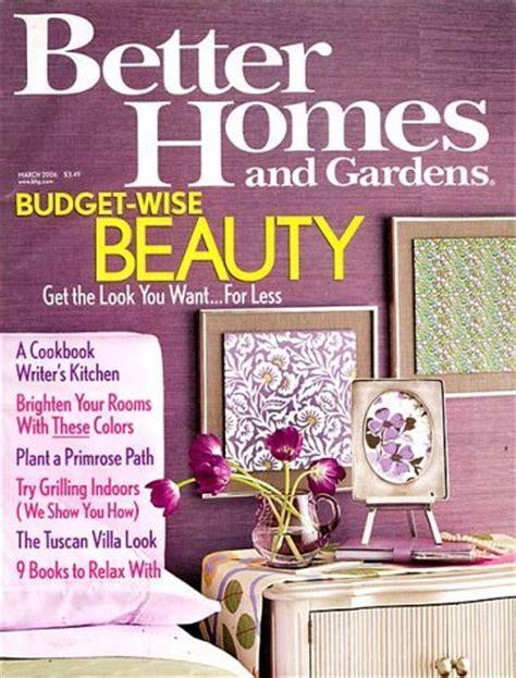 Better Homes Gardens Magazine better homes gardens magazine subscription deal 1 year