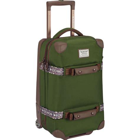 burton wheelie flight deck 45l rolling gear bag