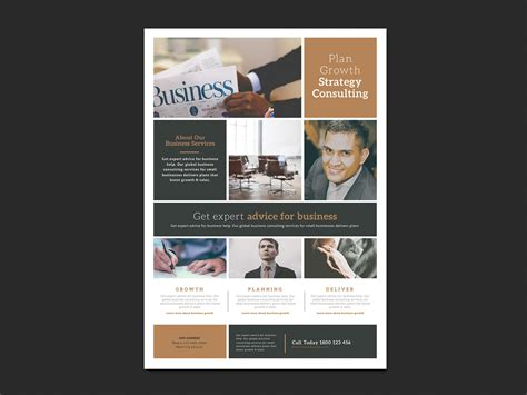 Free Multipurpose Business Poster Template For Photoshop