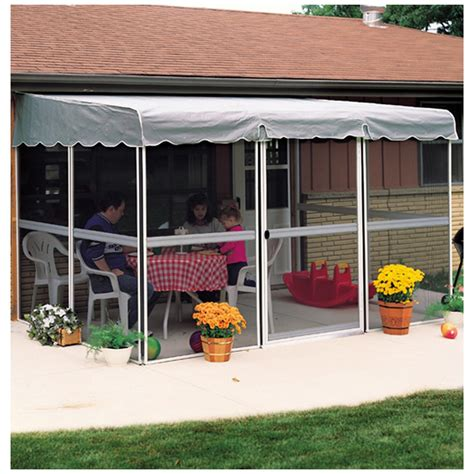 home products 7 panel 45 quot patio mate screened
