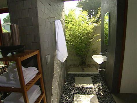Indooroutdoor Bathroom  Hgtv