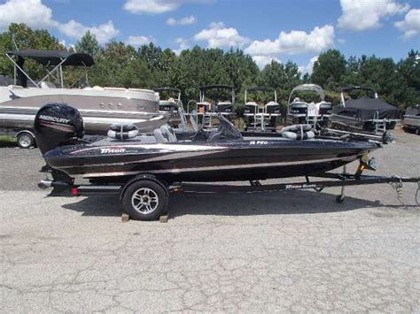 Used Triton Bass Boats For Sale In Georgia by 2013 Used Triton Boats 18 Pro Series Bass Boat For Sale