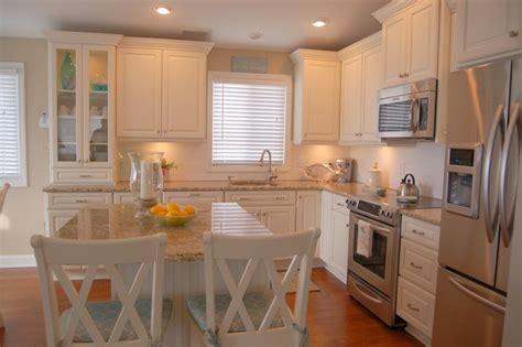 White Cottage Kitchen  Traditional  Kitchen Cleveland