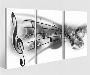 Bild 3 Teilig Auf Leinwand : leinwandbild 3 tlg musiknoten noten musik schl ssel leinwand bild bilder auf keilrahmen holz ~ Markanthonyermac.com Haus und Dekorationen