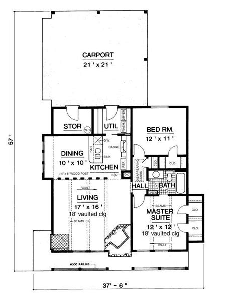 mountain chalet 900 2366 2 bedrooms and 1 5 baths the house designers