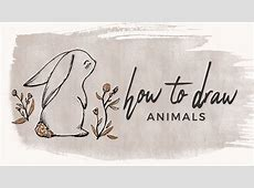 How to Draw Animals Doodle with me! YouTube