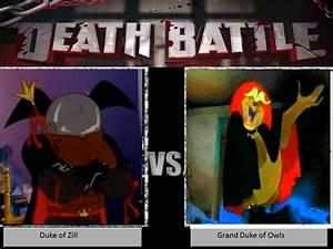 Duke of Zill vs Grand Duke of Owls by JAMNetwork on DeviantArt