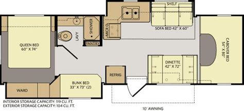 fleetwood class c rv floor plans gurus floor