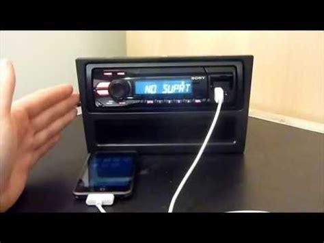 Sony Xplod Deck Demo Mode by Sony Xplod Mex Bt3800u Bluetooth Car Stereo Doovi