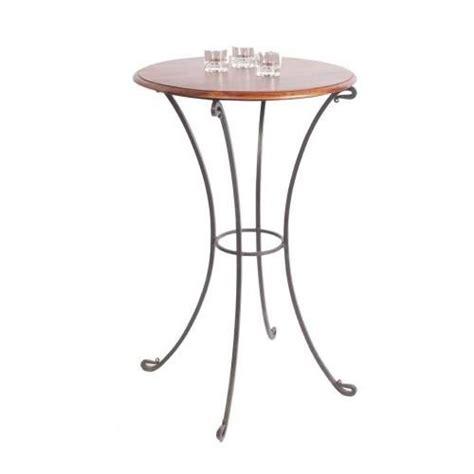table haute fer forg 233 palissandre