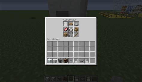 minecraft comment faire un frigidaire dans minecraft