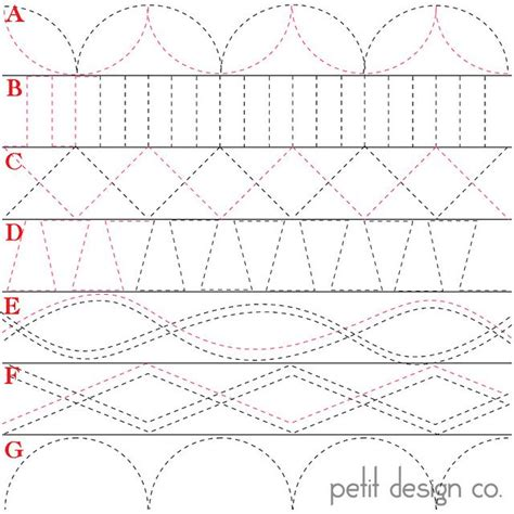 Triangle Quilt Border Templates by 25 Best Machine Quilting Patterns Ideas On Pinterest